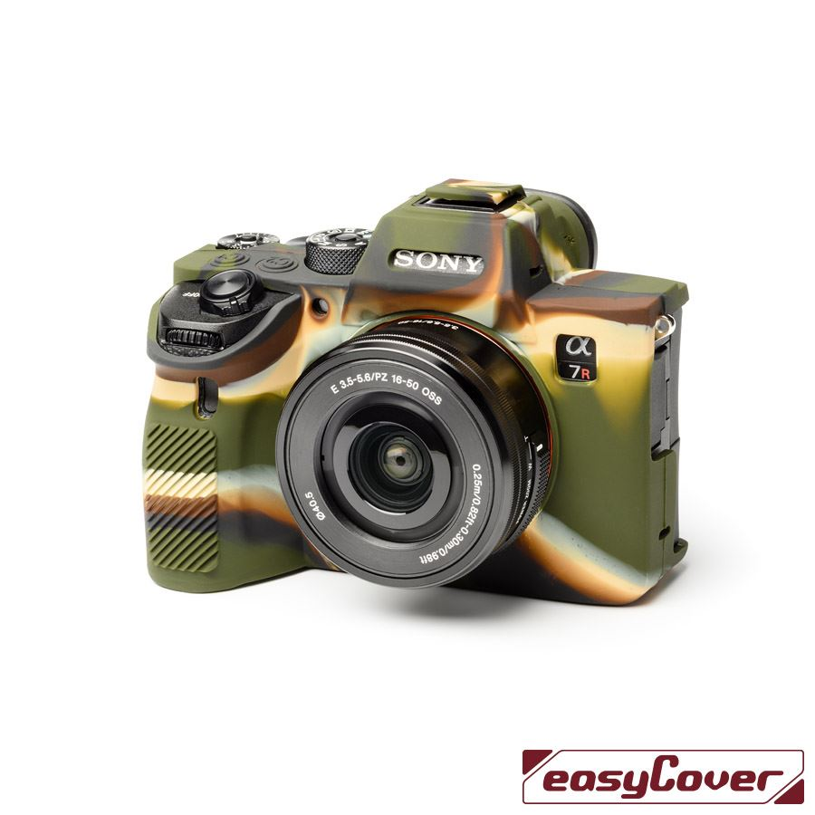 easyCover Body Cover for Sony A7R IV / A9 II Camouflage