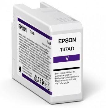 Epson Singlepack Violet T47AD UltraChrome Pro 10 ink 50ml