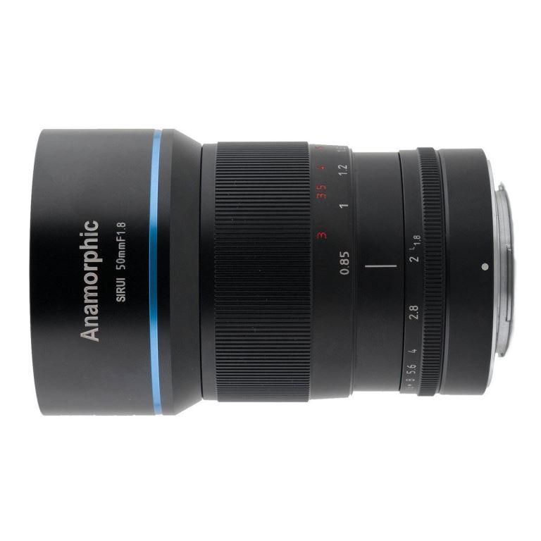 Sirui 50 mm F1.8 Anamorphic Lens 1.33X (X-mount)
