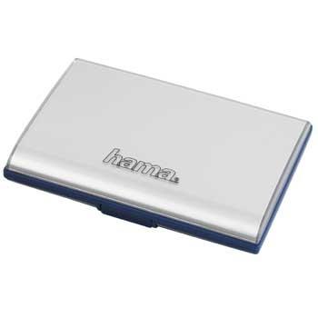 Hama Fancy Memory Card Case, silver Voor 23:59 uur besteld morgen in huis. Camera Accessoires > Geheugen & Opslag