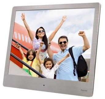 Hama Digitale fotolijst 20.3 cm (8 inch) 1024 x 768 pix Zilver