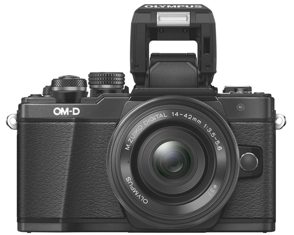 Olympus E-M10 Mark II systeemcamera Zwart + 14-42mm EZ