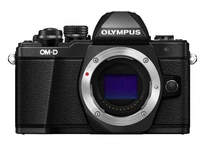 Olympus E-M10II body zwart
