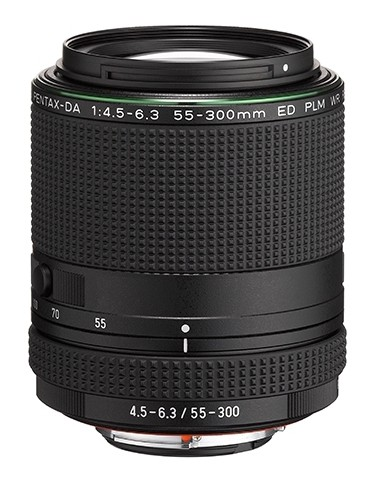Pentax HD DA 55-300mm f-4.5-6.3 ED PLM WR RE objectief