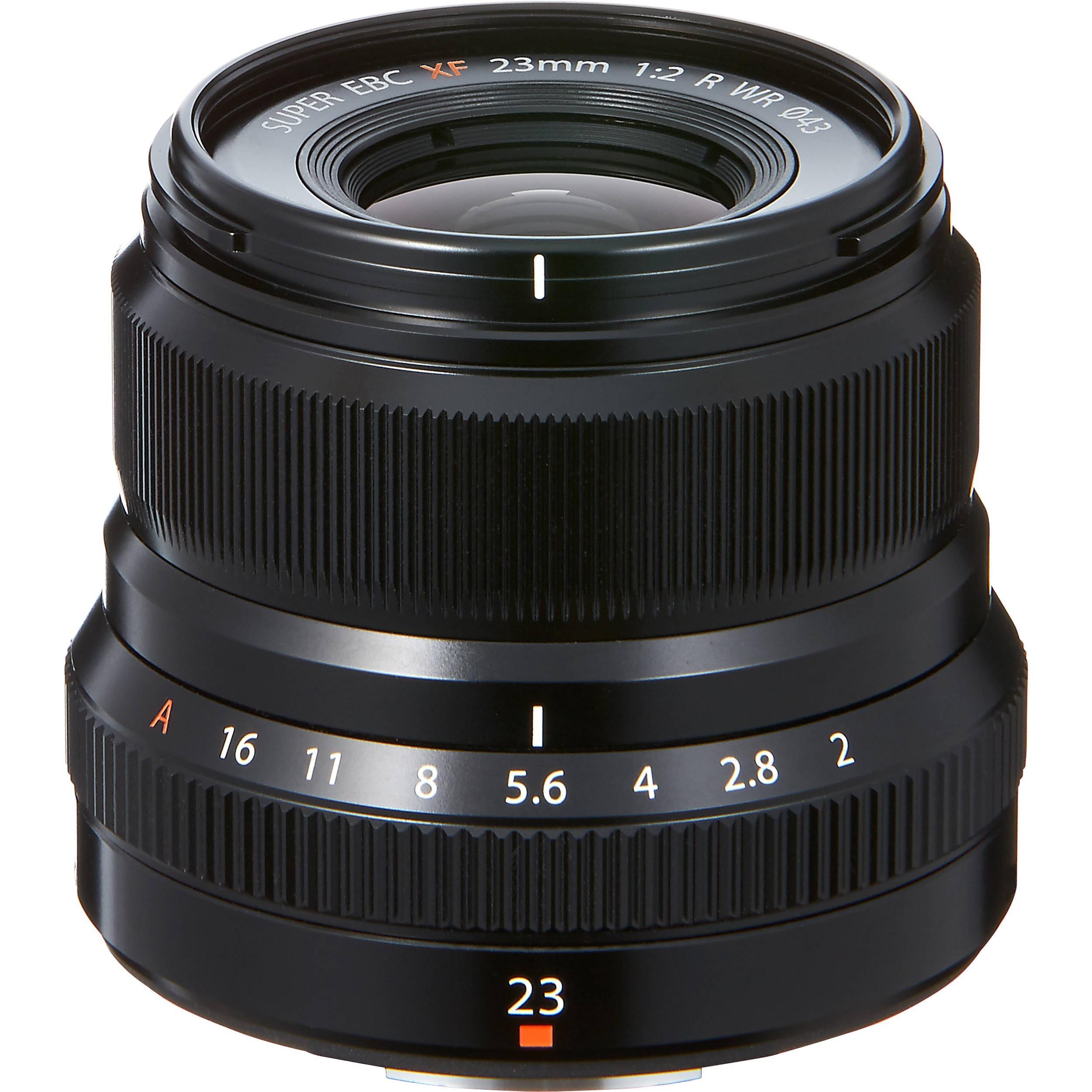 Fujifilm XF 23mm F-2.0 R WR zwart