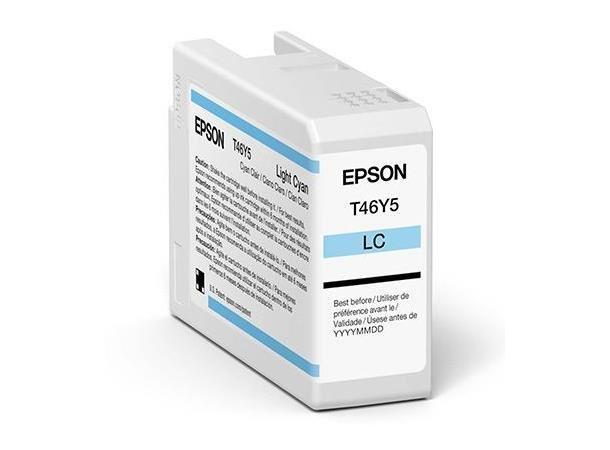 Epson Singlepack Light Cyan T47A5 Ult.Chrome Pro 10 ink 50ml