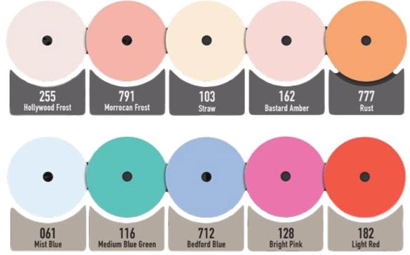 Rotolight 10-delige kleurfilter-set voor Anova