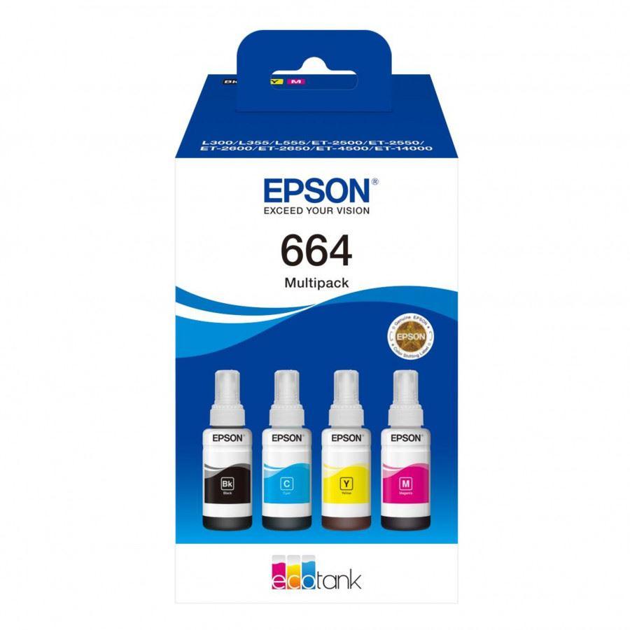 Epson 664 EcoTank 4-colour Multipack