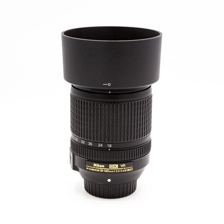 Nikon AF-S Nikkor 18-140mm f3.5-5.6G ED (occasion 1750)