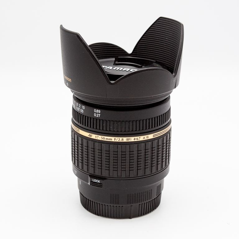 Tamron 17-50mm f2.8 SAM Sony a mount (occasion 1307)