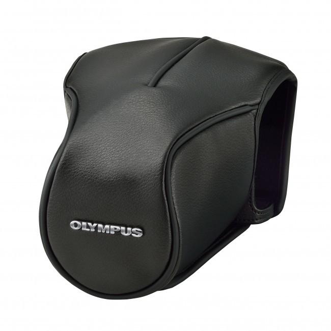 Olympus CS-46FBC body jacket with front case zwart E-M5 II