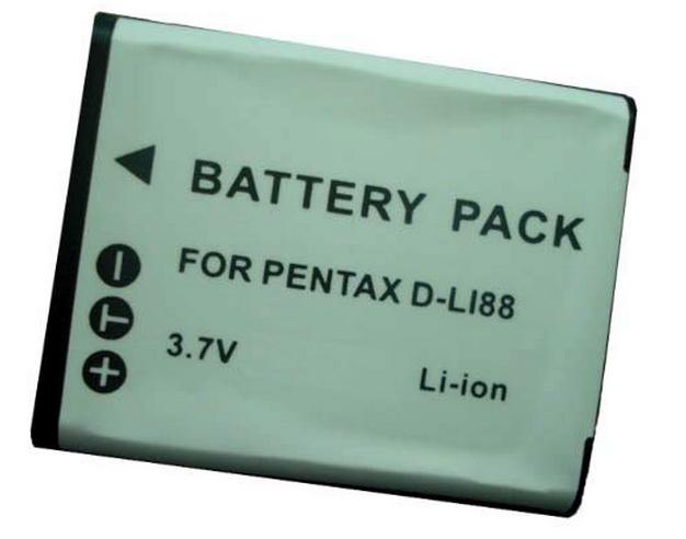 Jupio D-Li88 for Pentax/DB-L80 for Sanyo/VW-VBX070 for Pana.