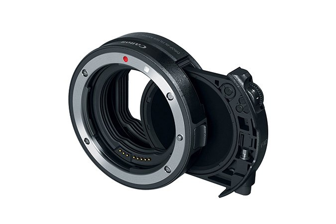 Canon Mount adapter EF-EF-EOS R w/ drop-in var. ND-filter A
