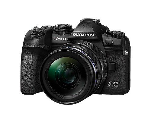 Olympus OM-D E-M1 Mark III + 12-40mm f/2.8 Pro Black
