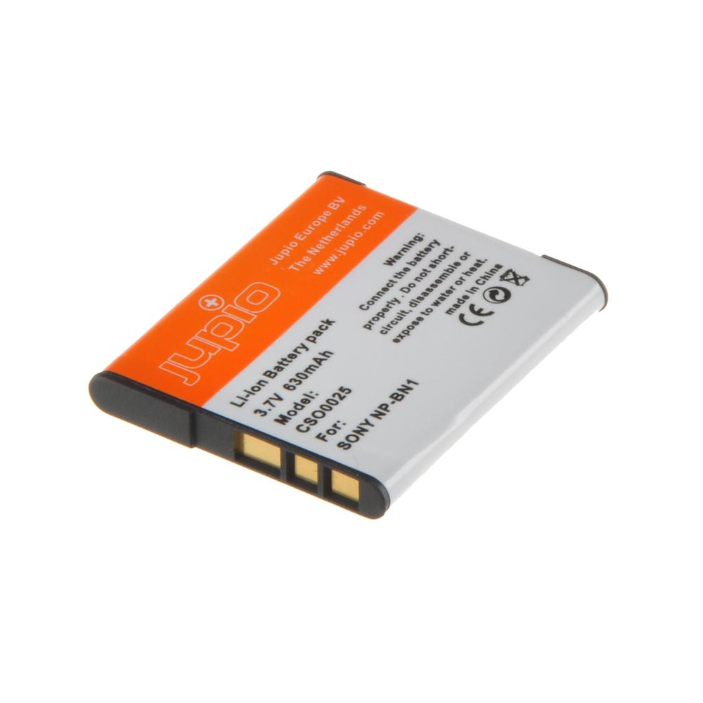 Jupio Sony NP-BN1 (met infochip) 630mAh CSO0025