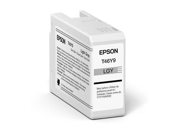 Epson Singlepack Light Gray T47A9 Ult.Chrome Pro 10 ink 50ml