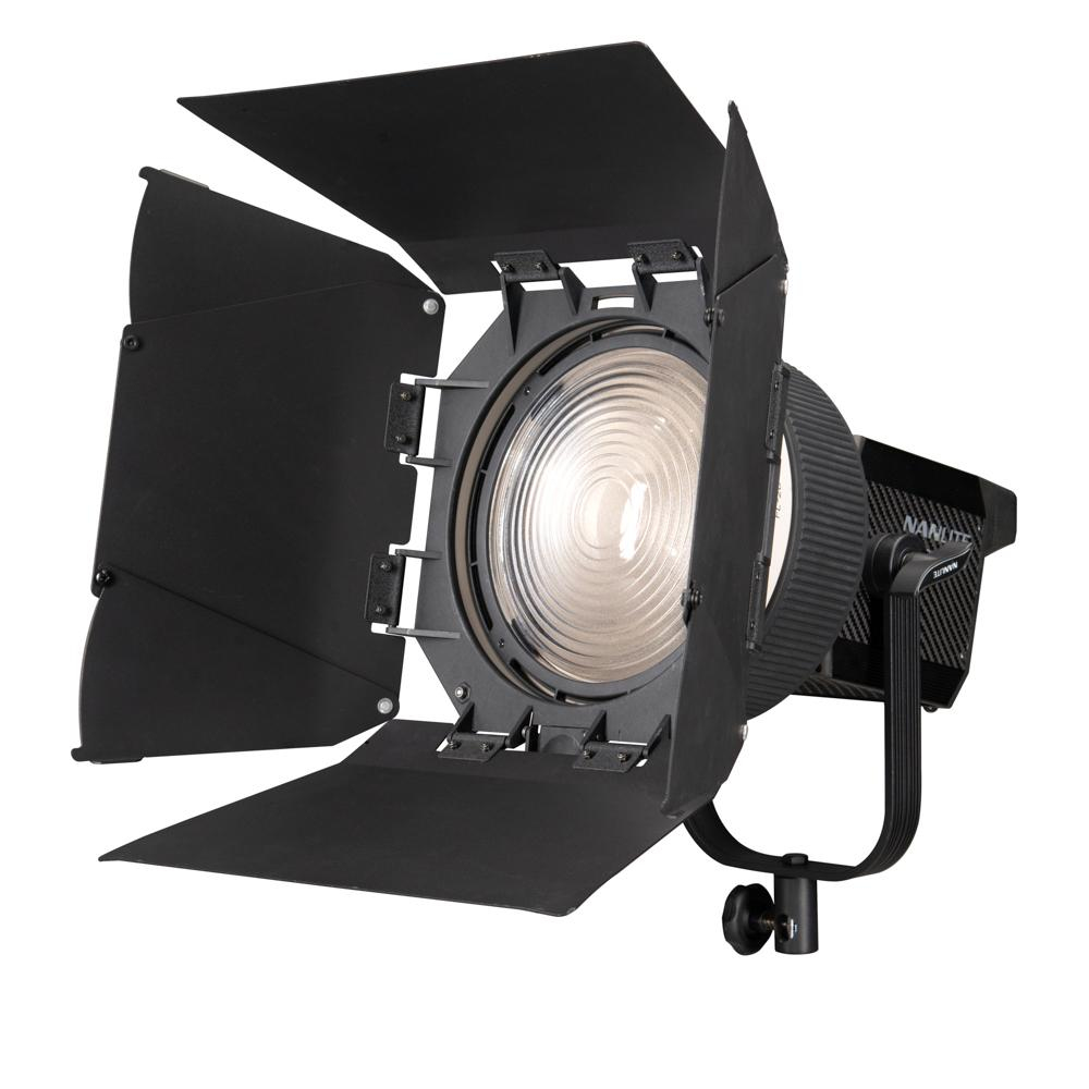 Nanlite Fresnel Lens w/ Barndoors (NL-FZ300 and 500)