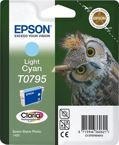 Epson T079540 - Light Cyan/Licht Cyaan