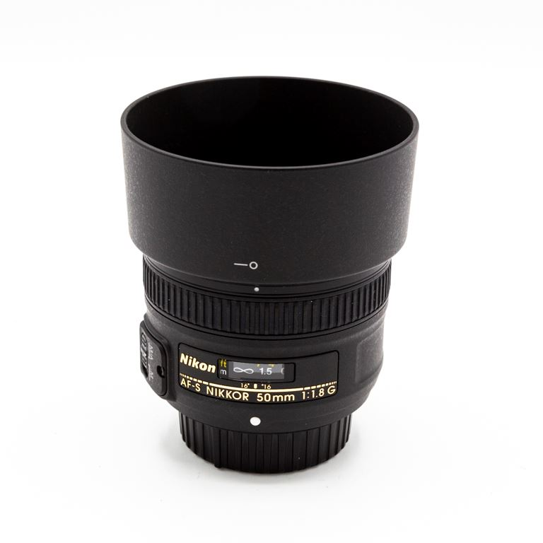 Nikon 50mm f1.8 G (occasion 1603)