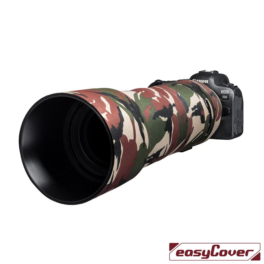 easyCover Lens Oak for RF800mm f/11 IS STM Green Camouflage