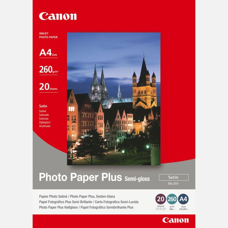 Canon SG-201 Semi Gloss A4 20vel