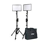 Ledgo E268CII Bi-color kit w/light stands (2 ligh/ high out)